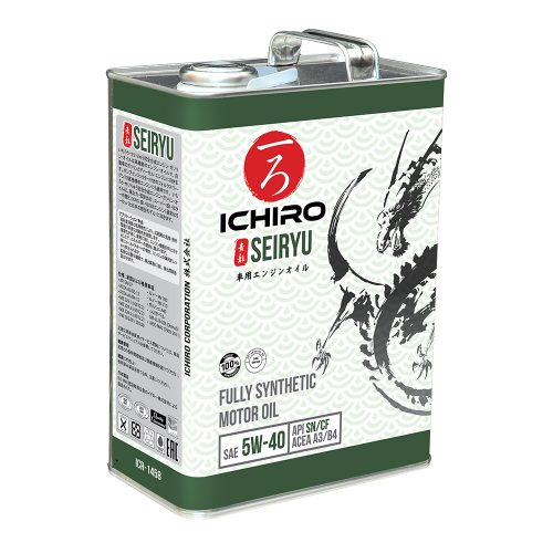 Seiryu ICR-1458 5W40 4L_tin